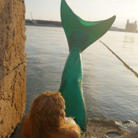 Sirena al Port de Tarragona
