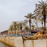 Sirena i Trito Port Tarragona
