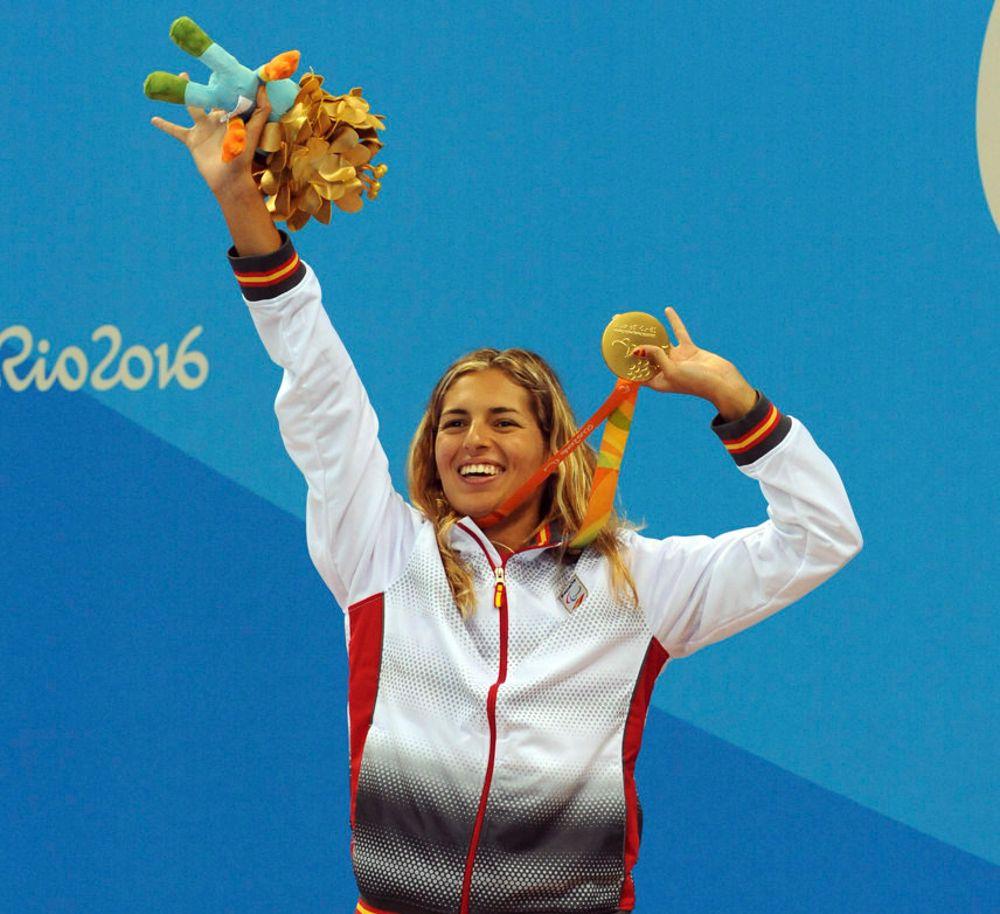 Michelle Alonso medalla oro