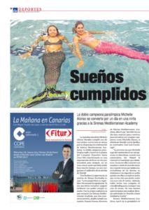 Sirenas en Diario de Avisos