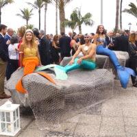 sirenas y tritones fiesta del turismo tenerife