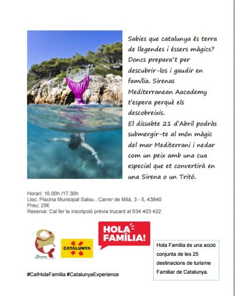 Hola Familia Salou Sirena