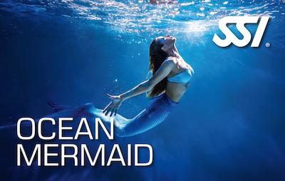 SSI Mermaid Ocean curso Sirenas Academy