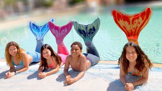 Sirenas en Aquopolis Costa Daurada