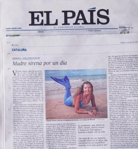Sirenas en El País