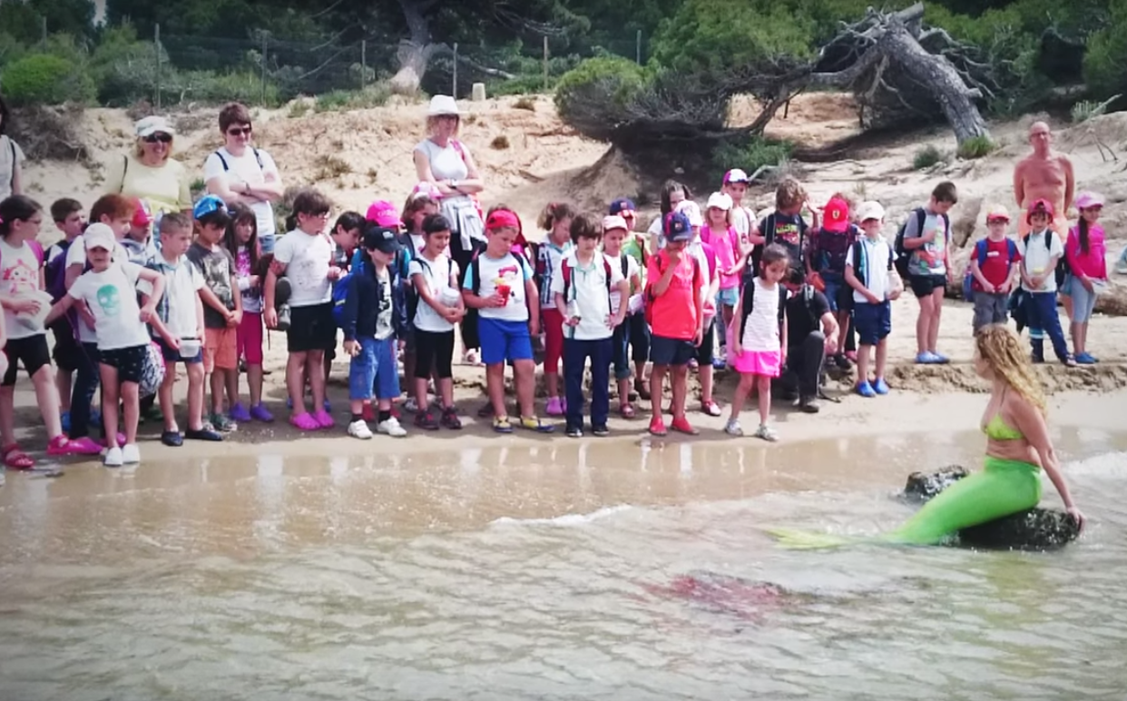 Carta niña sirena - Actividades para colegios