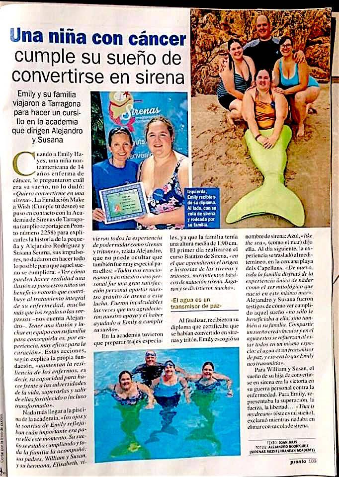 Sirenas Revista Pronto
