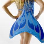 Cola Sirena y Tritón modelo Azul Mediterranean