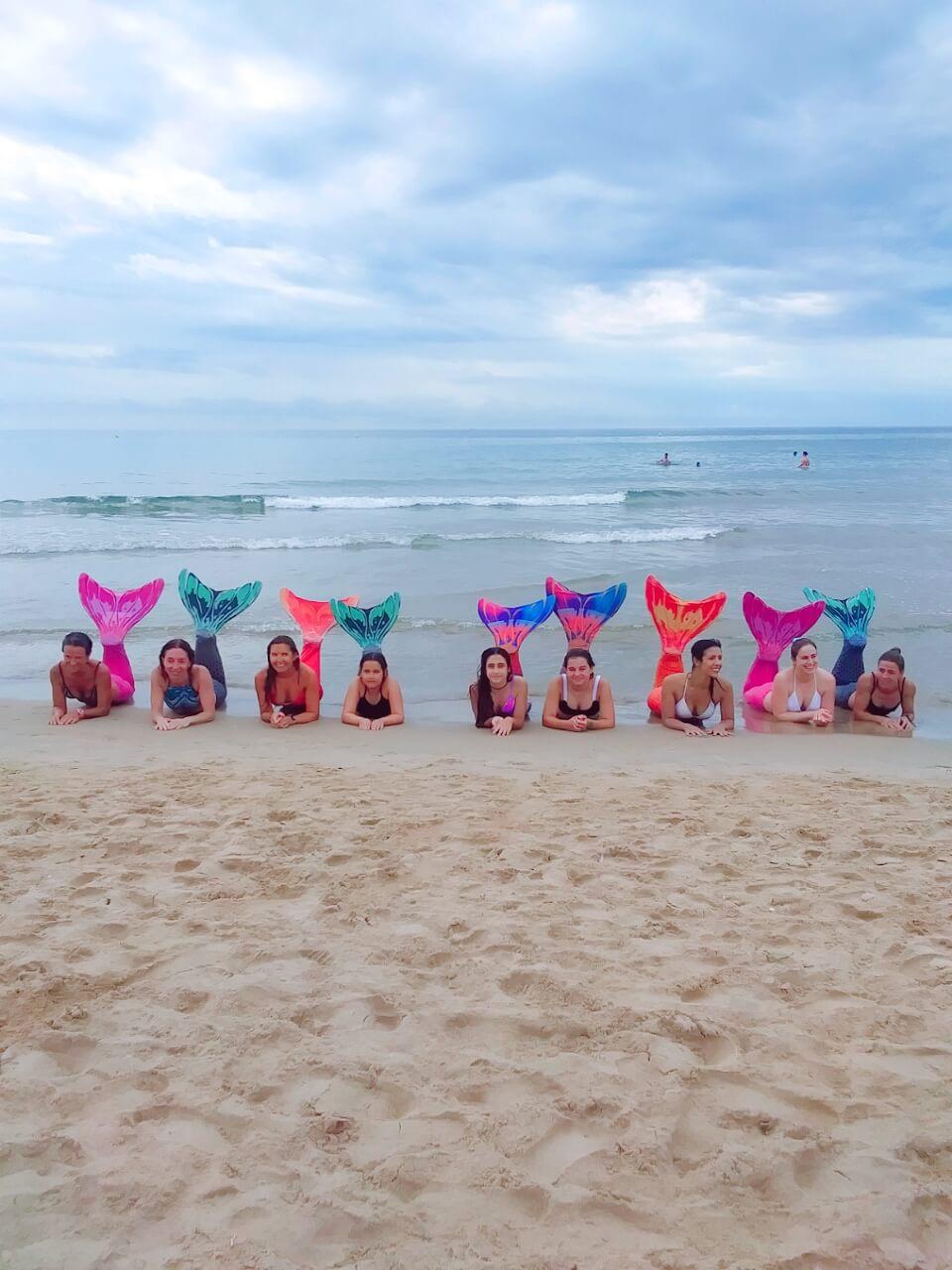 limpieza de playa sirenas